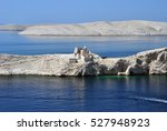 view from paski most  pag ... | Shutterstock . vector #527948923