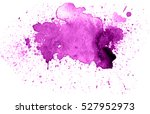 colorful abstract watercolor... | Shutterstock .eps vector #527952973