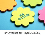 new collection  business concept | Shutterstock . vector #528023167