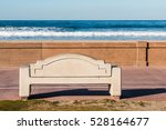 Bench On The Mission Beach...