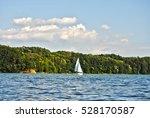 White Sailing Yacht So Far ...