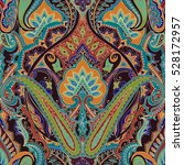 india seamless paisley pattern  ... | Shutterstock .eps vector #528172957