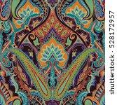india seamless paisley pattern  ... | Shutterstock .eps vector #528172957