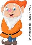cute dwarf cartoon | Shutterstock .eps vector #528177913