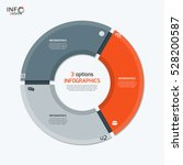 Vector Circle Chart Infographi...