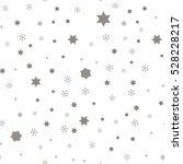 falling snow. seamless winter... | Shutterstock .eps vector #528228217