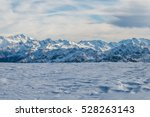 Gorgeous Snowy Mountains And...