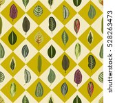 vector seamless pattern with... | Shutterstock .eps vector #528263473