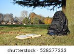 book reading in the park under...   Shutterstock . vector #528277333