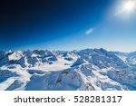 Top Of Alp Snow  Mountains
