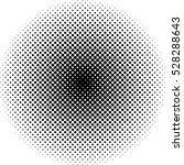 black halftone dot pattern | Shutterstock .eps vector #528288643