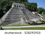 maya ruins in mexico | Shutterstock . vector #528292933