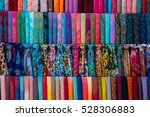 traditional colorful silk... | Shutterstock . vector #528306883