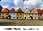 old town houses in bardejov ...   Shutterstock . vector #528330073