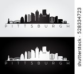 Pittsburgh Usa Skyline And...