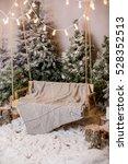 Christmas Interior With Tree...