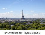 Aerial View Of Eiffel Tower An...