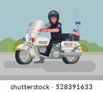 Cool Police Officer Character...