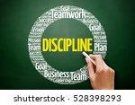 discipline word cloud collage ... | Shutterstock . vector #528398293