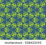 geometric shape abstract vector ... | Shutterstock .eps vector #528423193