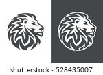 Abstract Lion Head Logo...