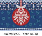 merry christmas and new year... | Shutterstock .eps vector #528443053