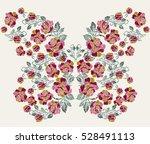 embroiders design | Shutterstock .eps vector #528491113