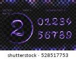vector eps 10. glowing violet... | Shutterstock .eps vector #528517753