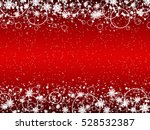 christmas and new year red... | Shutterstock .eps vector #528532387