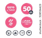 super sale and black friday... | Shutterstock . vector #528536623