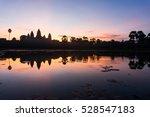 Reflection Of Angkor Wat While...