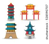 China Temple Collection Design...