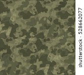 military camouflage seamless... | Shutterstock . vector #528662077