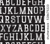 seamless background. alphabet... | Shutterstock . vector #528675223