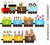 Train With Number Of Animals  ...