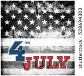 4th of july american... | Shutterstock . vector #528694303