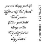 black and white handwritten... | Shutterstock . vector #528701077