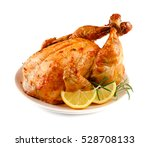 thanksgiving turkey isolated on ... | Shutterstock . vector #528708133