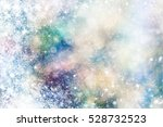 shimmering blur spot lights on... | Shutterstock . vector #528732523