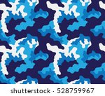 fashionable camouflage pattern  ... | Shutterstock .eps vector #528759967