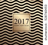 2017 happy new year. card for... | Shutterstock . vector #528760453