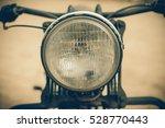 focus on a headlamp. retro... | Shutterstock . vector #528770443