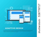 vector concept of adaptive... | Shutterstock .eps vector #528778717
