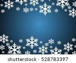snowflakes vector illustration... | Shutterstock .eps vector #528783397