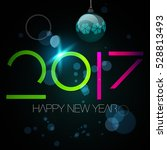 2017 new year. | Shutterstock .eps vector #528813493