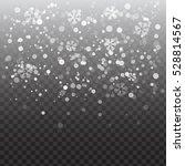 Vector Heavy Snowfall ...