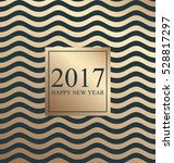 2017 happy new year. card for... | Shutterstock . vector #528817297