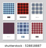 vector set of artistic abstract ... | Shutterstock .eps vector #528818887