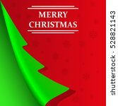 merry christmas abstract... | Shutterstock .eps vector #528821143