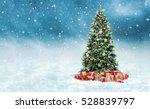 Beautiful Christmas Tree With...
